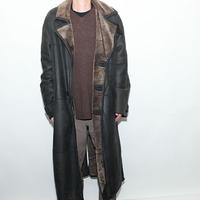 Black Mouton Coat