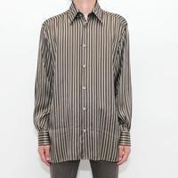 Silk Stripe L/S Shirt