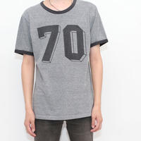 Numbering Ringer T-Shirt MADE IN USA
