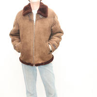 Vintage B-3 Type Mouton Jacket