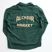 ビンテージ刺繍シャツ マーブルボタン Vintage L/S Shirt