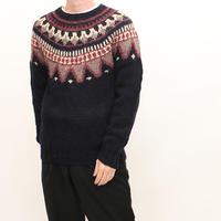 Wool Rich Vintage Nordic  Wool Sweater