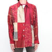 Random Patchwork L/S Shirt