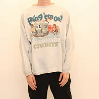 90's Looney Tunes Dallas Cowboys Sweat Shirt