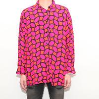 Rayon Dot Pattern Shirt