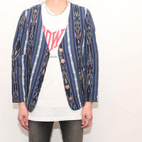 Ethnic No Collar Jacket