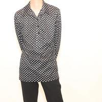 Vintage Montgomery Ward Polka Dot Pull Over Shirt