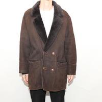 Vintage Yves Saint Laurent Mouton Coat