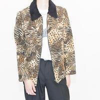 Leopard Tapestry  Jacket