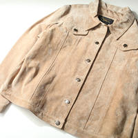 Pig  Leather Trucker  Jacket