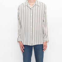 Silk Stripe L/S Shirt