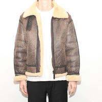 B-3 Mouton Leather Jacket