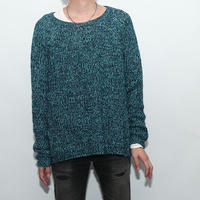Mix Collor Knit Sweater