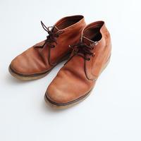 60-70s チペワ チャッカブーツ Chippewa Chukka Boots 黒タグ刺繍 10