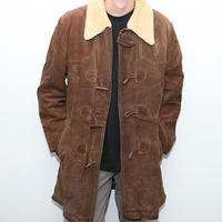 ヴィンテージ スウェードダッフルコート Vintage Coat