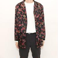 Flower Pattern Pajama Shirt