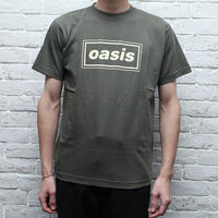 オアシス バンドTシャツボックスロゴ Oasis
