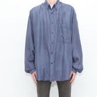 Dot Pattern Silk L/S Shirt