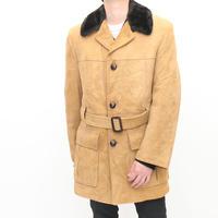 Puritan Nuback Boa Coat