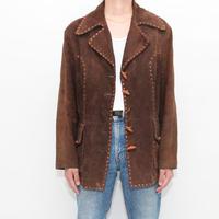 MONTGOMERY WARD  Suede Leather Jacket