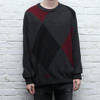ビッグアーガイルセーター