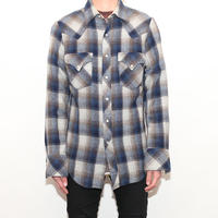 70s Wool Western L/S Shirt