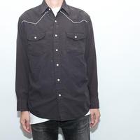 Black Western L/S Shirt