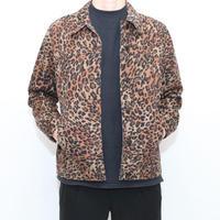Vintage Leopard Trucker Jacket