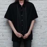 ストライプシャツ Black S/S Shirt