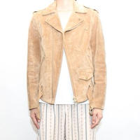 Suede Double Riders Jacket