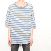 Over Size Border T-Shirt
