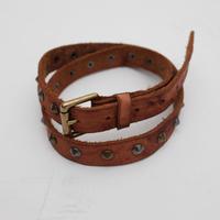 Studs Leather Belt