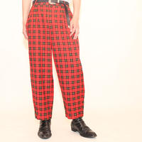 Modern Punk Checker Pants