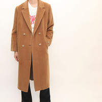 Cashmere Wool  Chesterfield  Coat
