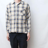80s ライトネル Vintage Flannel Shirt