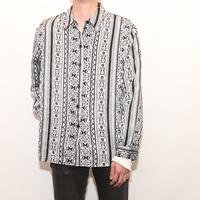 Paisrey Pattern L/S Shirt