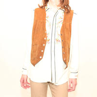 Schott Suede Leather Vest