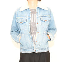 Vintage Denim Boa Jacket