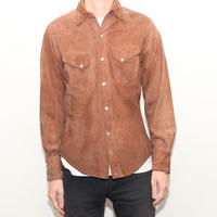 Steerhide Leather Western Shirt