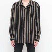 Black Stripe L/S Shirt