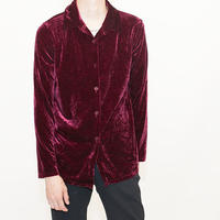 Red Velour L/S Shirt