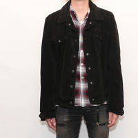 Schott Black Suede Jacket