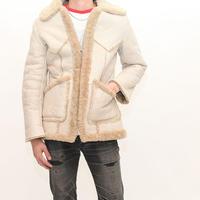 Vintage  Mouton Zip Up Jacket