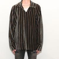 Velour Pullover Shirt