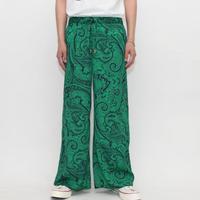 Paisley Pattern Easy Pants