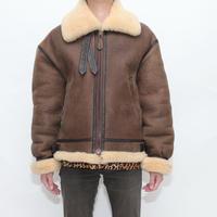 B-3 Mouton Leather Jacket