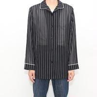 Stripe Pattern Rayon L/S Shirt