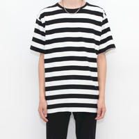 Black × White Border T-Shirt