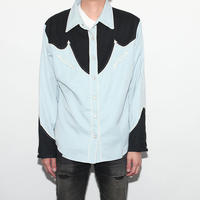 Vintage Embroidery Western L/S Shirt