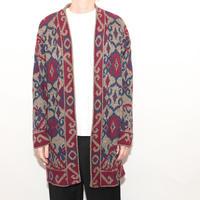 Half Coat Wool Cardigan